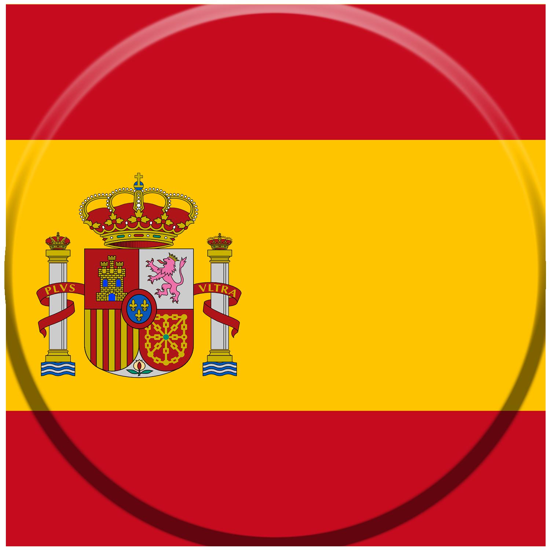 icono de bandera española para mantenimiento de piscinas