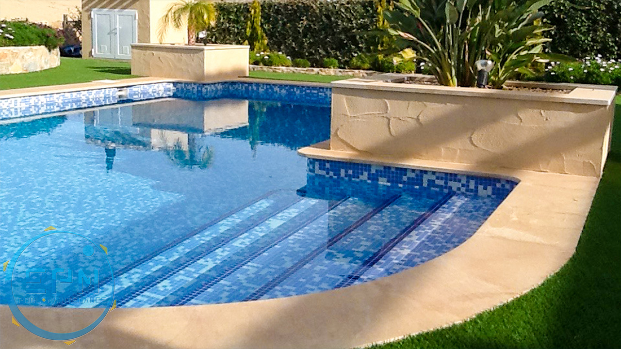 steps extension and pools maintenance