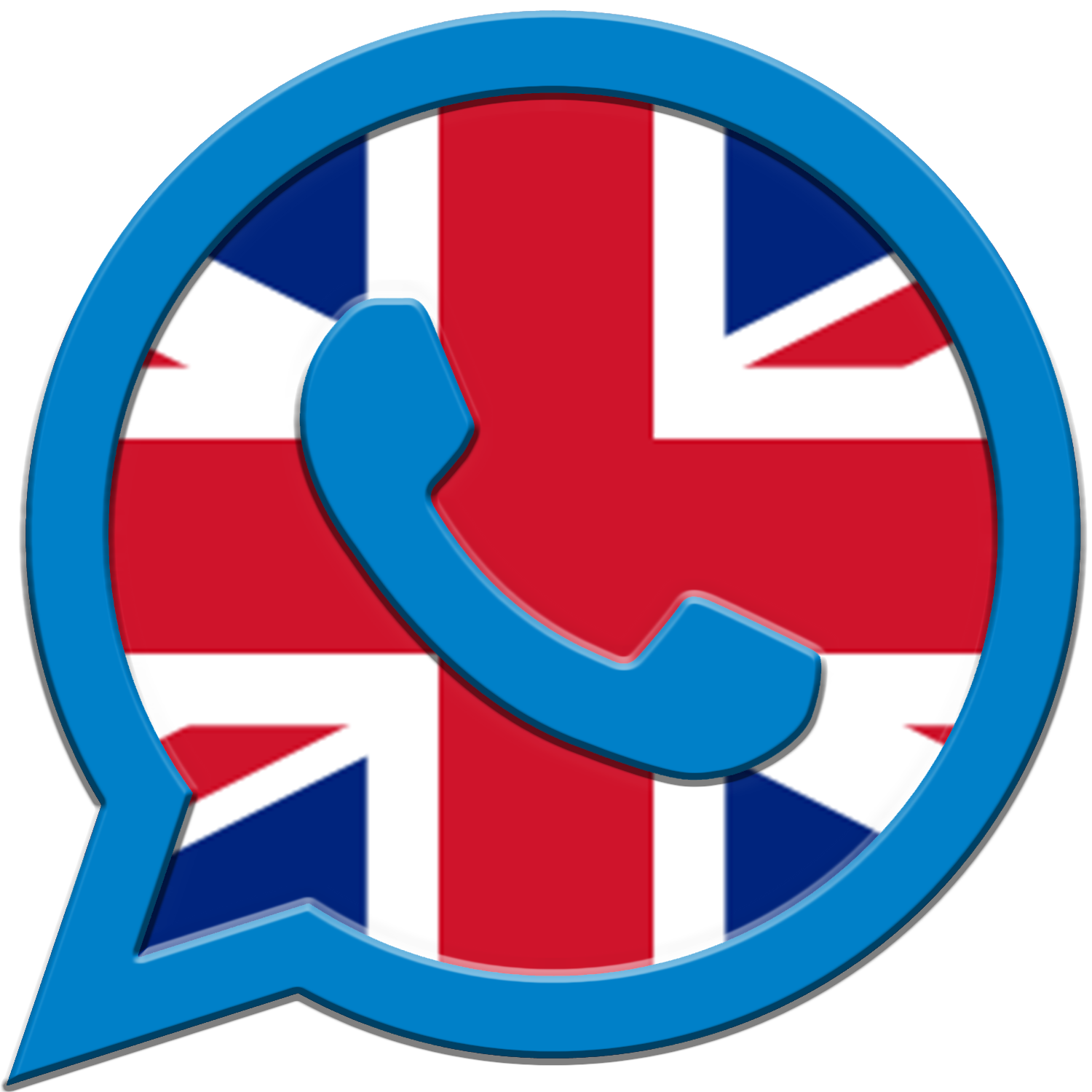 english flag icon for pools maintenance